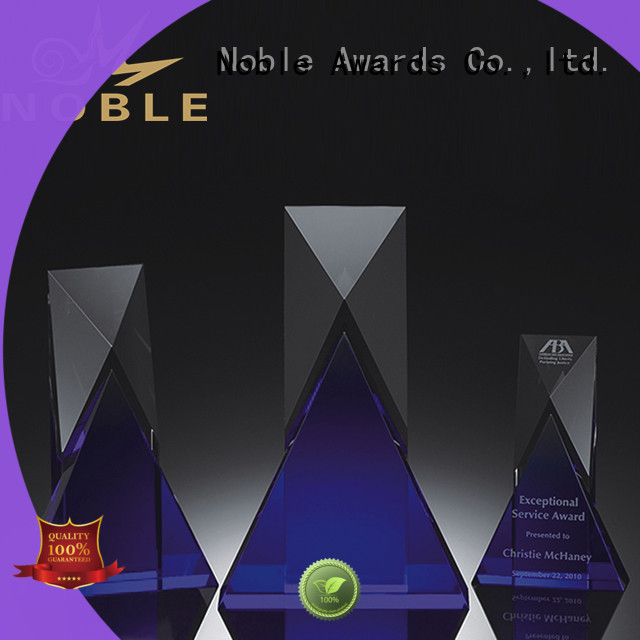 Noble Awards premium glass Crystal Trophy Award buy now For Gift