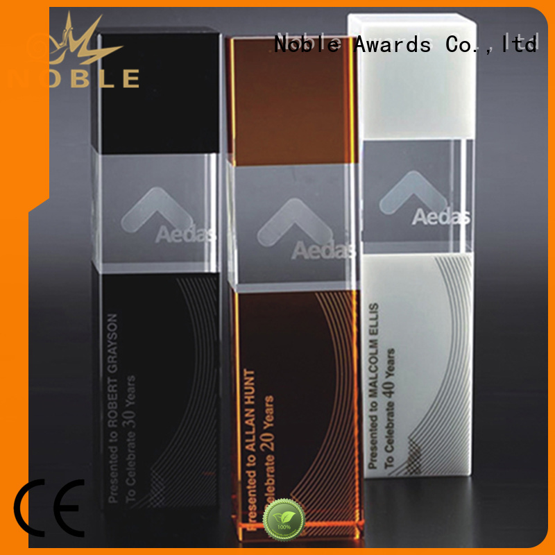 Noble Awards on-sale Crystal trophies OEM For Gift
