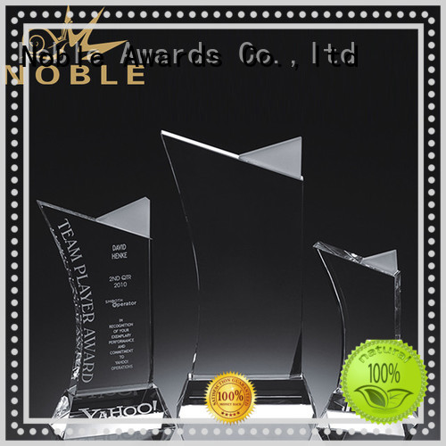 funky Blank Crystal Trophy premium glass bulk production For Gift