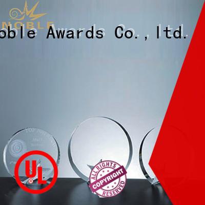 Noble Awards jade crystal Crystal trophies OEM For Awards