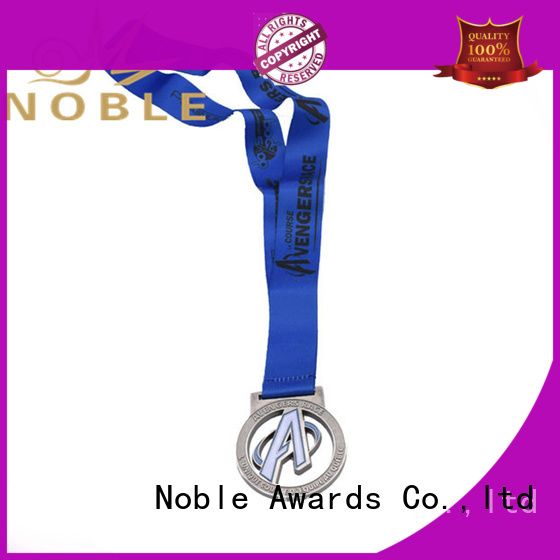 Noble Awards Zinc Alloy star shaped medals buy now For Sport games