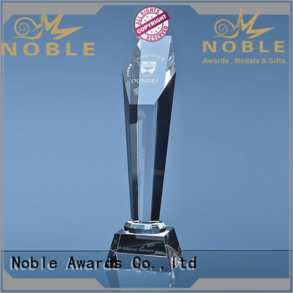 at discount Crystal trophies premium glass OEM For Gift