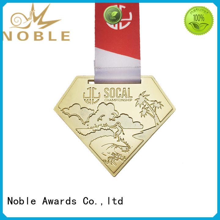 Noble Awards gold Custom medals supplier For Awards