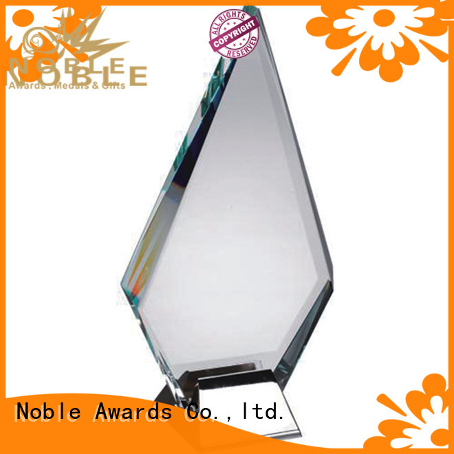 Noble Awards at discount Crystal trophies free sample For Sport games