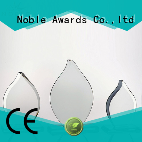 jade crystal 2019 Noble Fantastic Clear No.1 Crystal Awards With Gift Box OEM For Awards Noble Awards