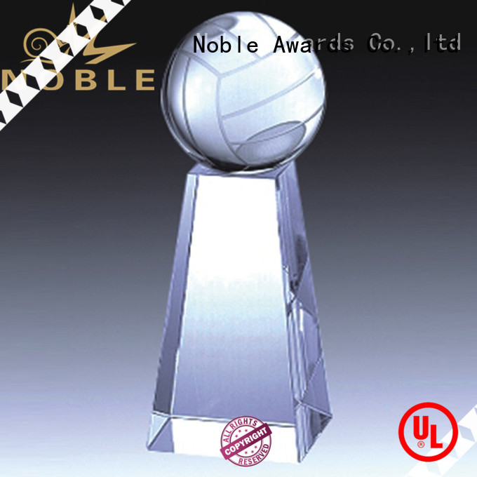 Noble Awards jade crystal Crystal trophies supplier For Sport games