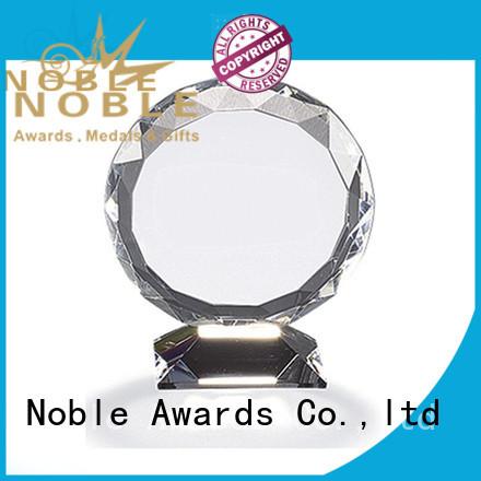 durable Blank Crystal Trophy jade crystal free sample For Sport games