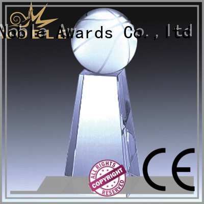 Noble Awards premium glass Crystal trophies customization For Awards