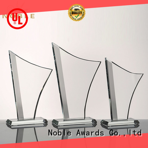 Noble Awards Breathable 2019 Noble Customized Blank Crystal Trophy For Company Sales Awards jade crystal For Awards