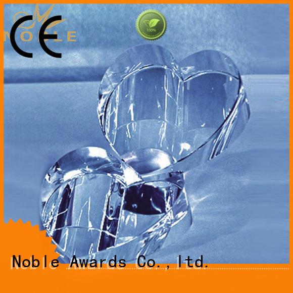 Noble Awards solid mesh Blank Crystal Trophy jade crystal For Sport games