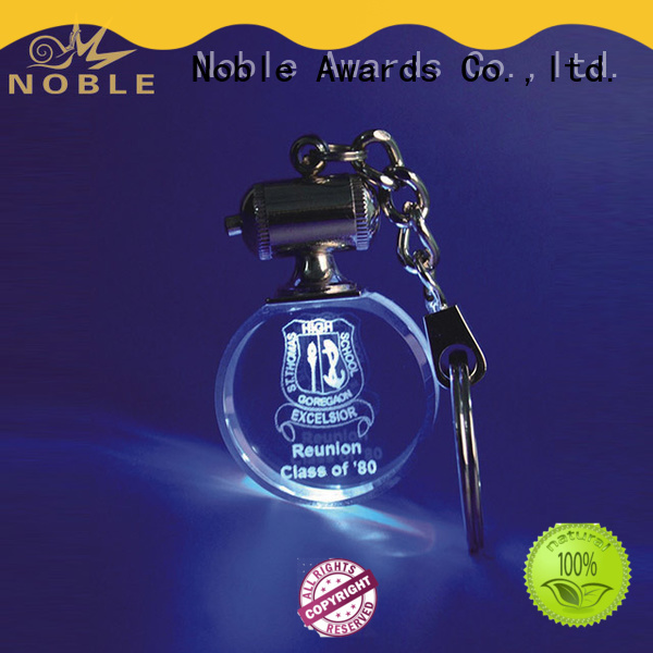 Noble Awards solid mesh personalized glass gifts with Gift Box For Awards