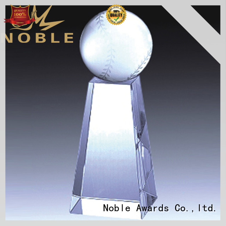 Noble Awards funky Crystal trophies free sample For Sport games