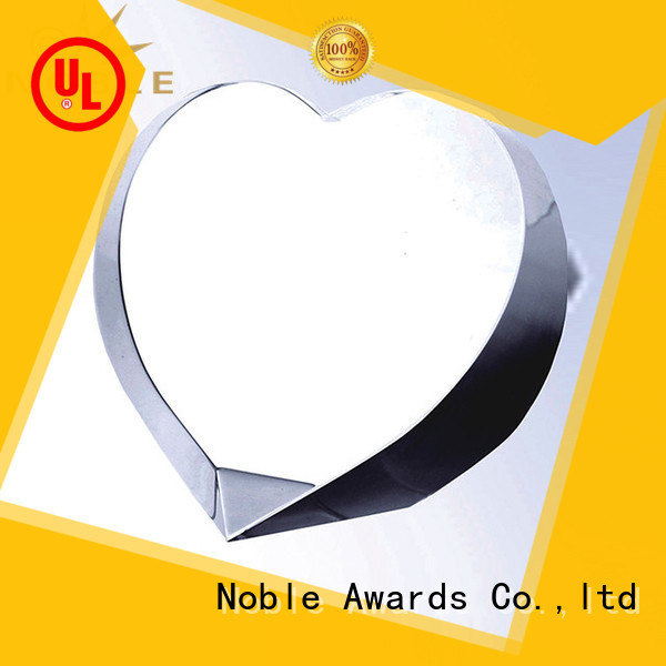 Noble Awards portable 2019 Noble Fantastic Clear No.1 Crystal Awards With Gift Box premium glass For Awards