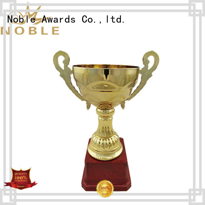 portable Personalized Metal trophies Gift Box with Gift Box For Gift