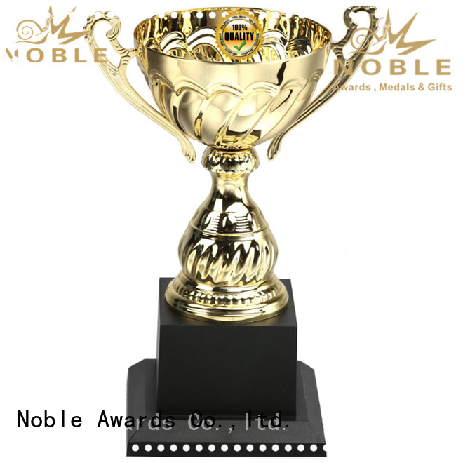 Noble Awards Breathable metal cup trophy buy now For Awards