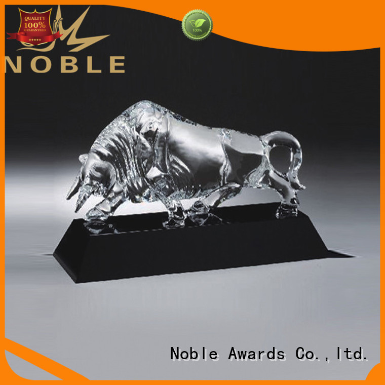 Noble Awards jade crystal Crystal Trophy Award customization For Sport games