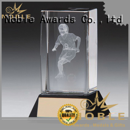 Noble Awards jade crystal Crystal trophies ODM For Sport games