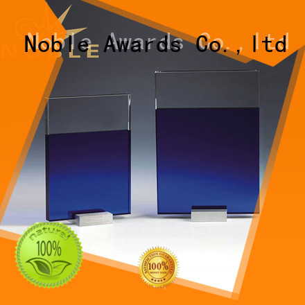 Noble Awards at discount Crystal Trophy Award OEM For Awards