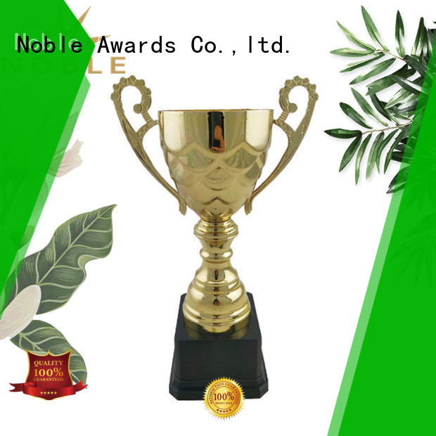 Noble Awards portable Metal trophies with Gift Box For Gift