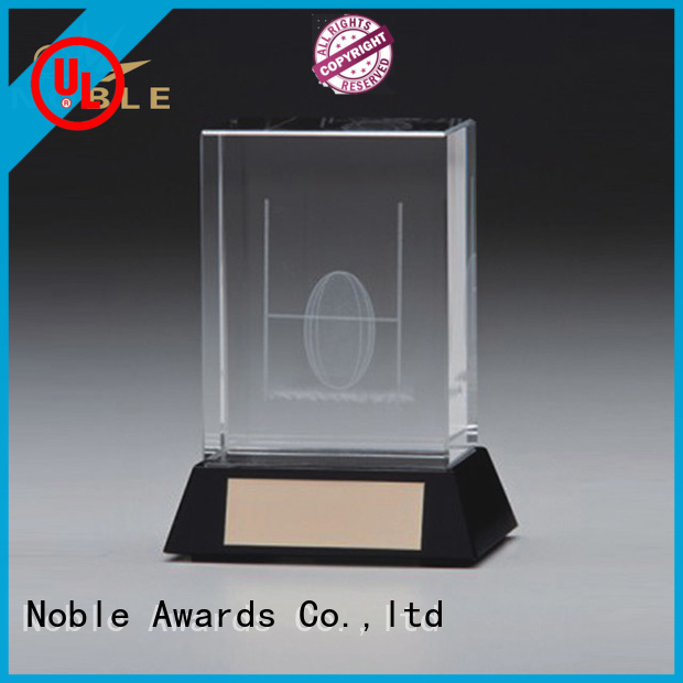 Noble Awards portable Crystal trophies customization For Gift