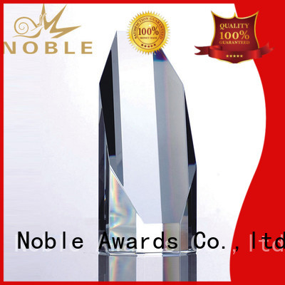 premium glass Blank Crystal Trophy OEM For Awards Noble Awards