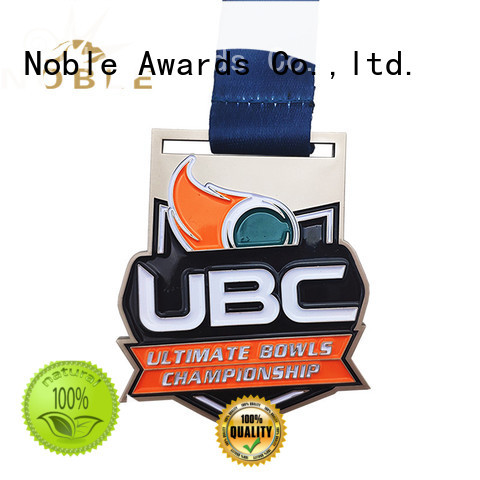 Noble Awards scholastic events Custom medals free sample For Awards
