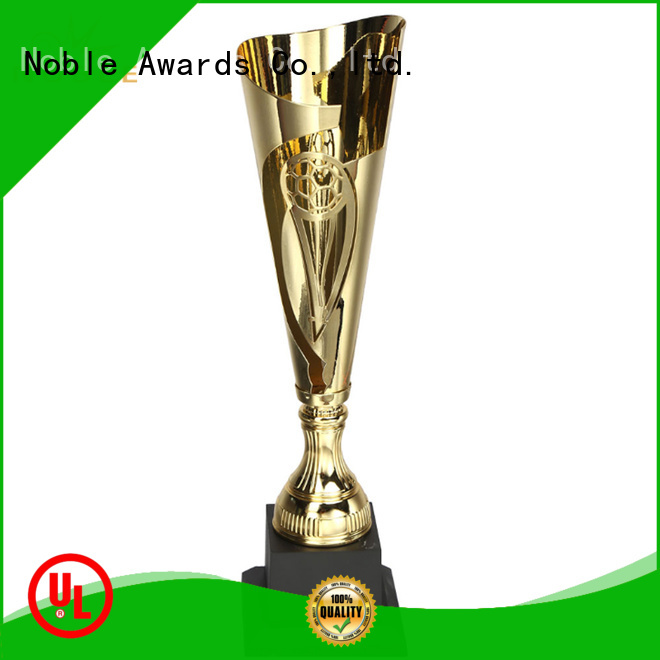 Noble Awards at discount Personalized Metal trophies with Gift Box For Gift