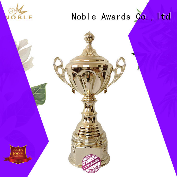 Noble Awards Aluminum Personalized Metal trophies with Gift Box For Sport games