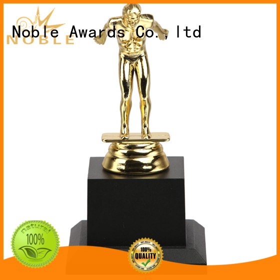 Noble Awards solid mesh custom trophy awards for wholesale For Gift