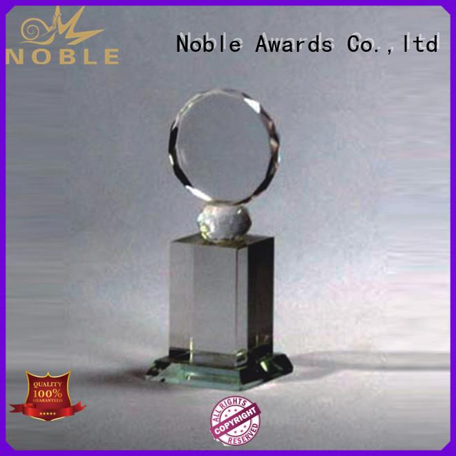 Noble Awards jade crystal Crystal Trophy Award supplier For Gift
