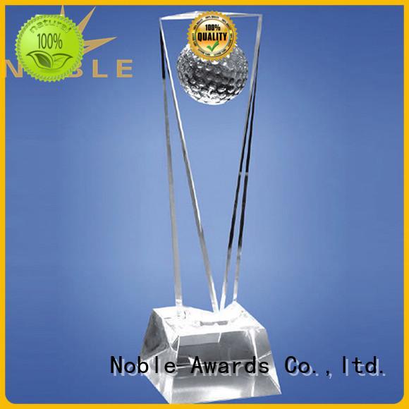 latest Blank Crystal Trophy jade crystal bulk production For Gift