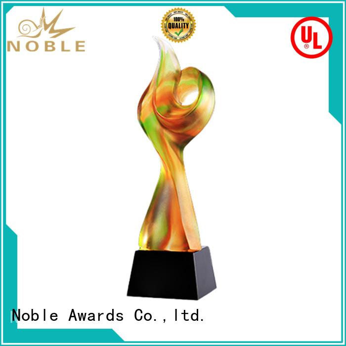 Noble Awards portable Liu Li Award bulk production For Gift
