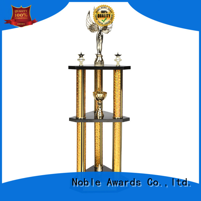 portable Metal trophies Gift Box with Gift Box For Sport games