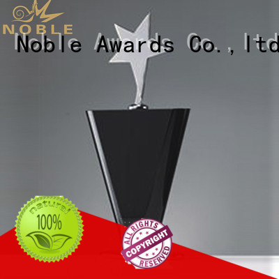Noble Awards jade crystal Crystal trophies bulk production For Gift
