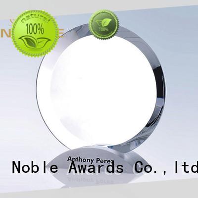 Noble Awards jade crystal Blank Crystal Trophy free sample For Awards