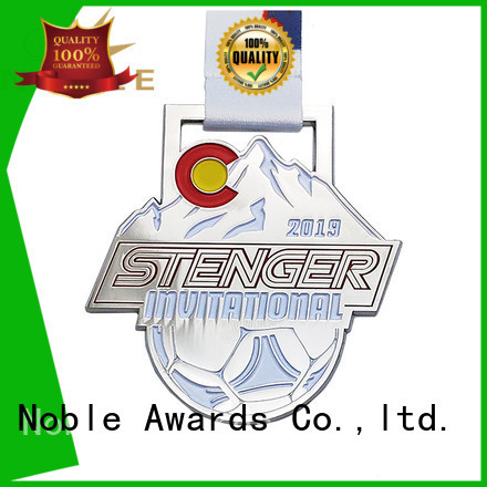 Noble Awards latest Custom medals free sample For Sport games