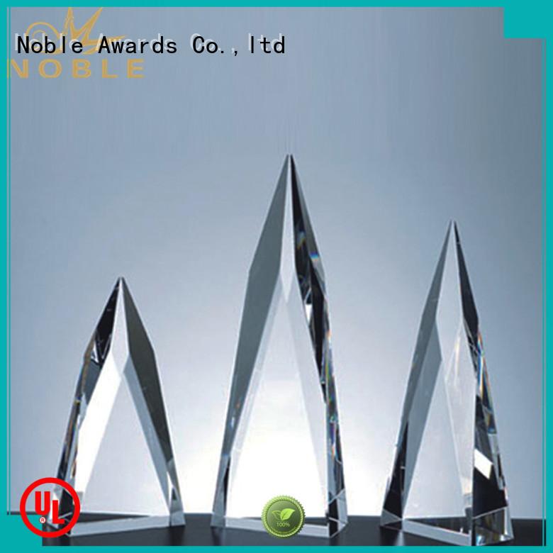 on-sale Blank Crystal Trophy jade crystal bulk production For Awards