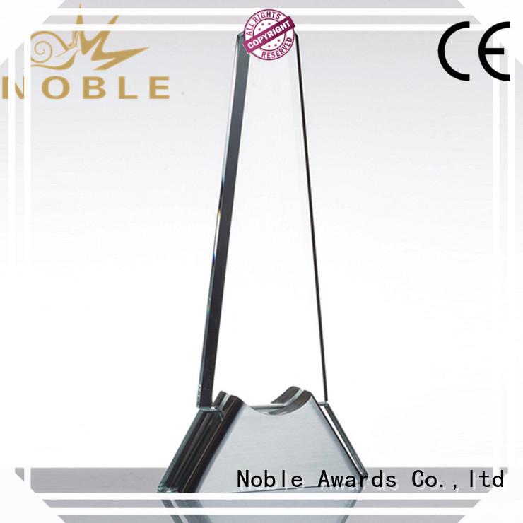 Noble Awards jade crystal Crystal Trophy Award supplier For Awards