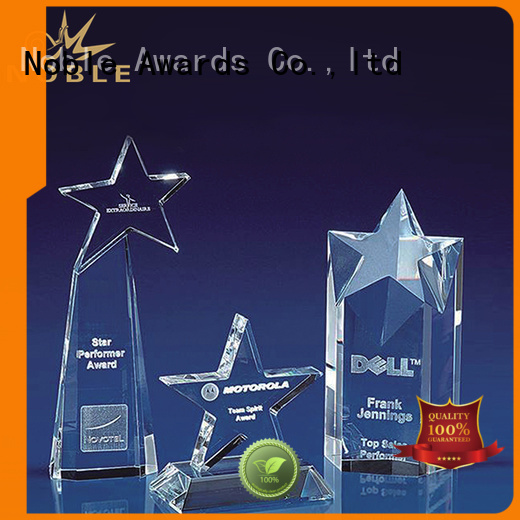 Noble Awards solid mesh Crystal Trophy Award get quote For Sport games
