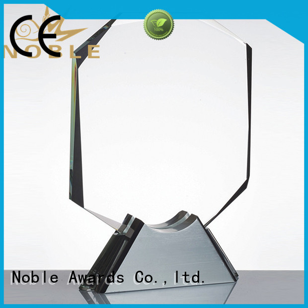 solid mesh Crystal trophies jade crystal for wholesale For Awards